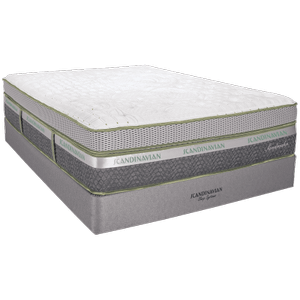 Scandinavian Sleep System Sandmahn BoxTop Mattress Only