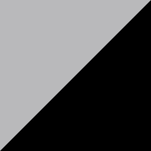 Adirondack Glider 2' Dove Gray and Black