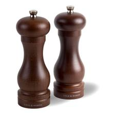 Cole & Mason Wood Forest Capstan Salt & Pepper Grinder Gift Set with Refills, 6-Inch