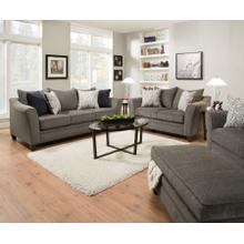 6485 Albany Pewter Sofa and Loveseat