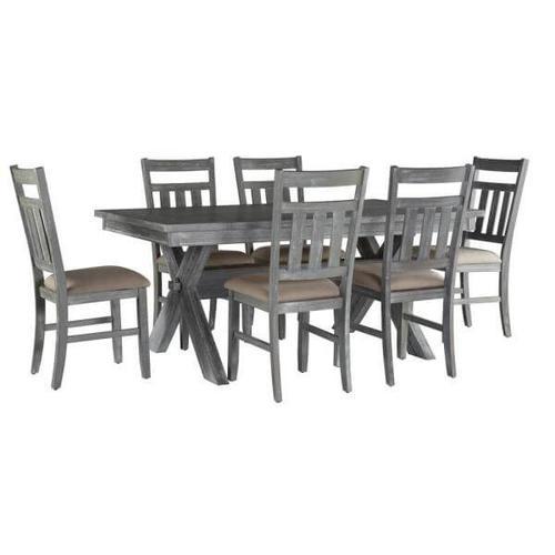 Turino 7 Piece Dining Set - Gray
