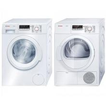 Bosch Laundry Pair-Ventless Dryer