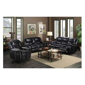 Gallery - 665040 Black 2pc or 3pc Reclining Set *New Arrival*