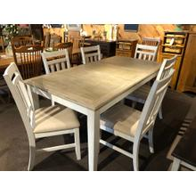 FM171 Table and 6 chairs