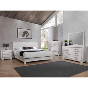 Crown Mark B8260 White Sands King Bedroom