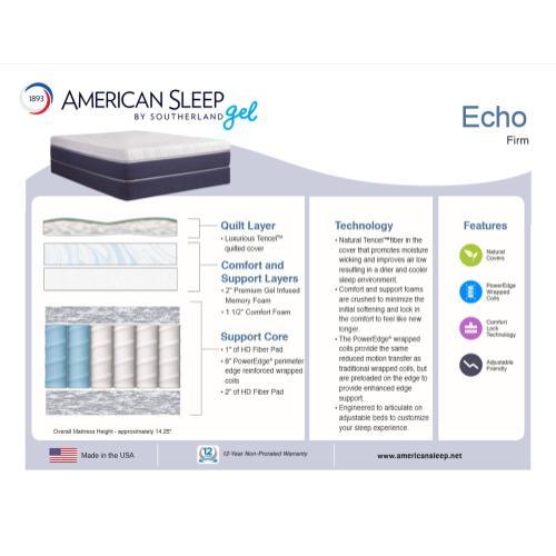 American Sleep - Echo - Firm