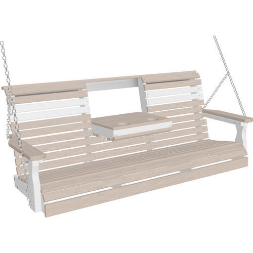 Plain Swing 5' Premium Birch and White