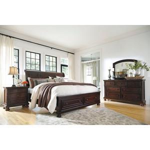 Packages - Porter Queen Storage Bed, Dresser, Mirror and Nightstand
