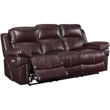 Warner Wine Power Reclining Sofa