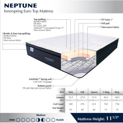 Neptune - Medium - Euro Top