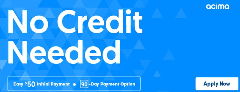 No Credit Needed - Easy $50 Initial payment, 90 day payment Option