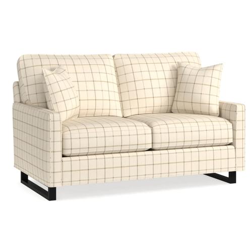 Bassett Furniture - Premier Collection - BenchMade Custom Upholstery Petite Sofa