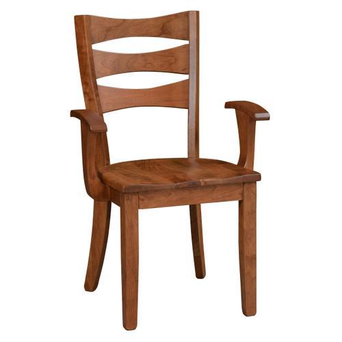Amish Furniture - Sierra Arm Chair