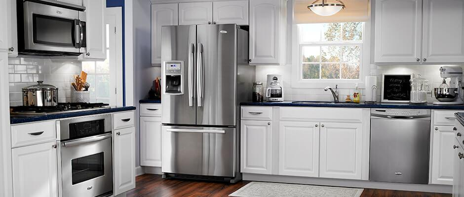 Kitchen cooking and cleanup at Woodbury Appliance!