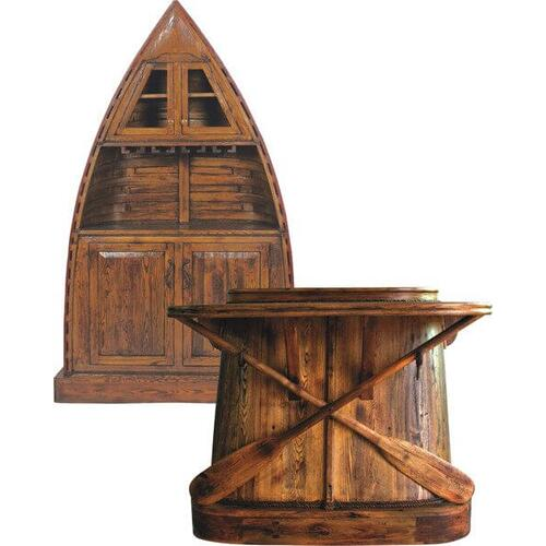 All Resort Furnishings - Row Boat Bar