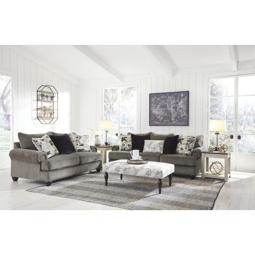 Ashley 234 Sembler Cobblestone Sofa and Love