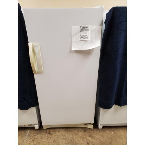USED 13.5 cu. ft. Manual Defrost Upright Freezer # 32