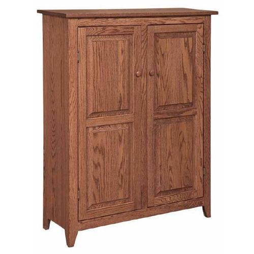 Shaker 2- Door Jelly Cabinet
