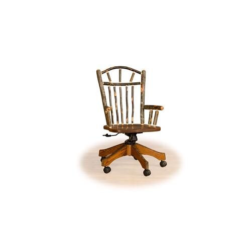 Hickory Office Chair