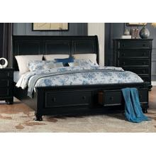 HOMELEGANCE 1714KB Laurelin King Platform Storage Bed