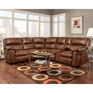 Wyoming Saddle 3 Piece Reclining Sectional