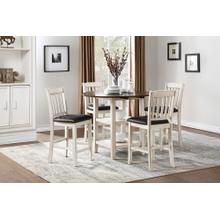 HOMELEGANCE 5162WW-36-24 Kiwi 5-Piece Dinette - Table And 4 Chairs