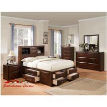 Acme 04070 Manhattan Espresso Storage bedroom set Houston Texas USA Aztec Furniture