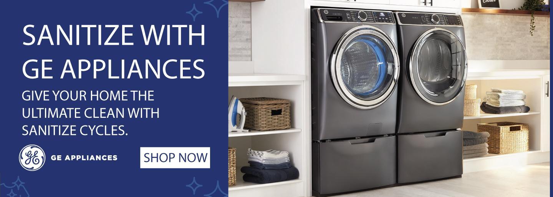 GE Appliances Sanitize Feature 2020