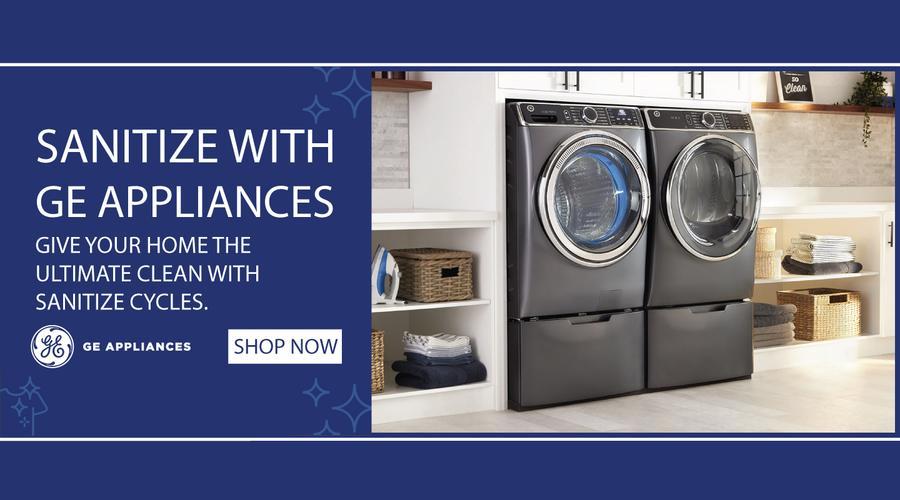 GE Appliances Sanitize Feature 2021