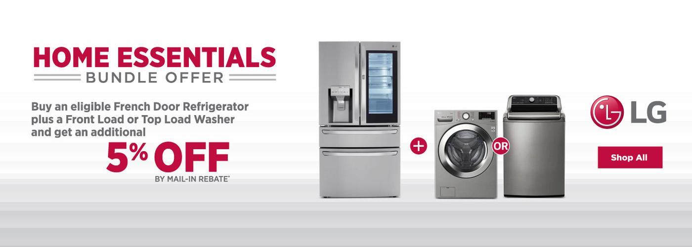 LG Home Essentials Bundle Offer 2020
