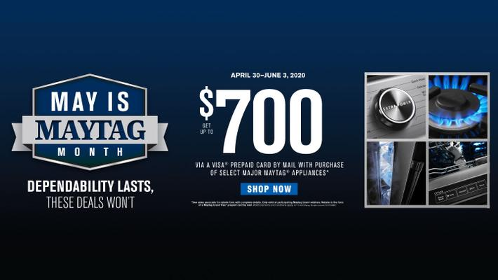 May is Maytag Month ADC + DMI 2020