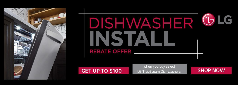 LG Dishwasher Installation Oct-Nov 2021