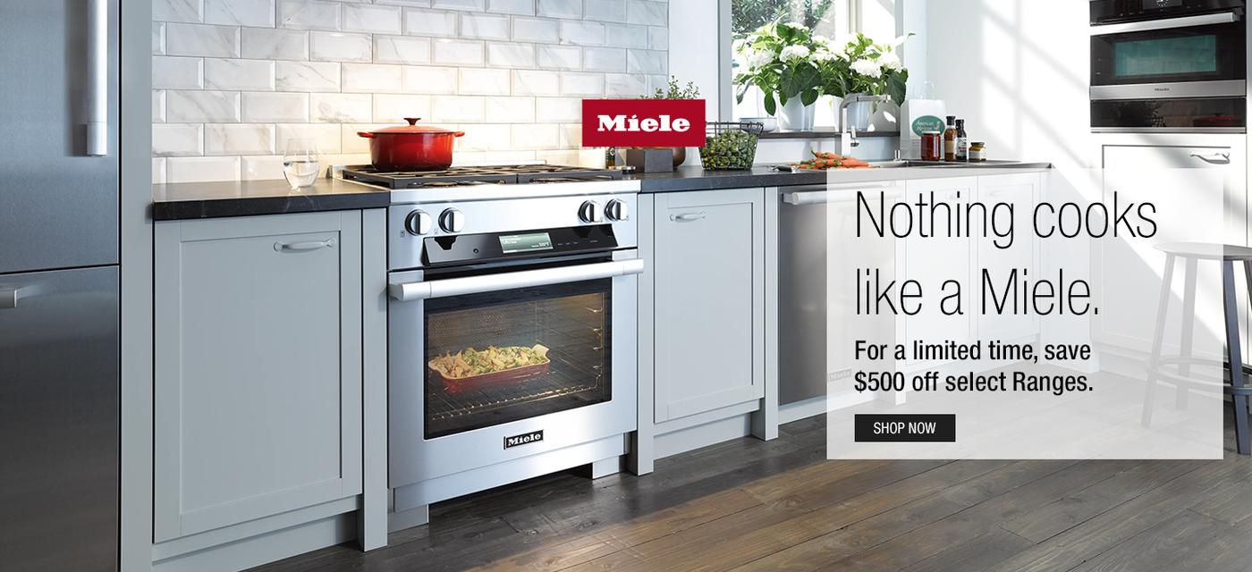 Miele $500 Range Rebate November 2020