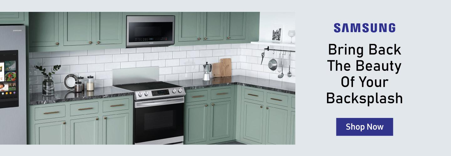 Samsung Beauty of your Backsplash Aug 2020