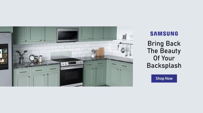 Samsung Beauty of your Backsplash Aug 2020