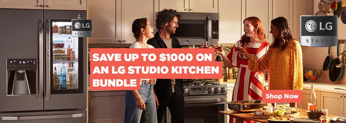 LG STUDIO Kitchen Bundle 2020
