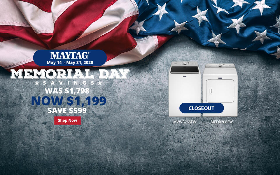 Maytag NEAEG Memorial Day 2020