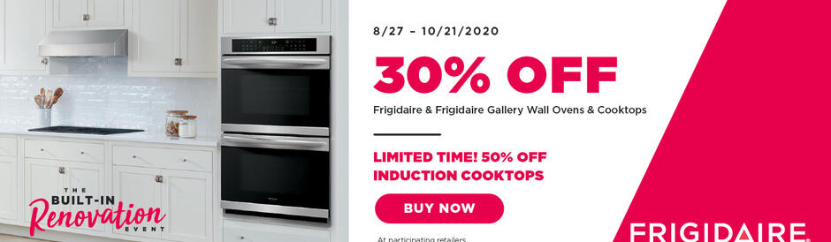Frigidaire Built In Renovation 2020
