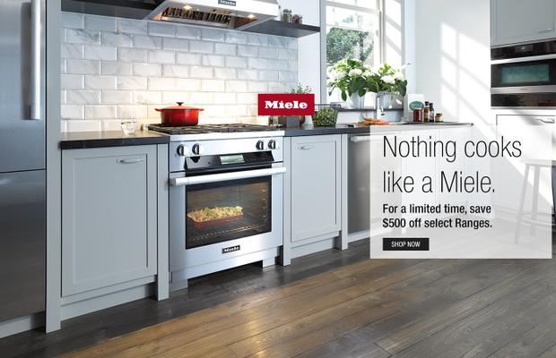 Miele $500 Range Rebate July 2020