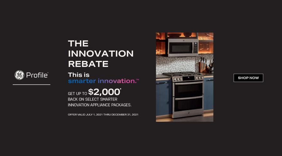 GE Profile Bring Home Innovation July-Dec 2021