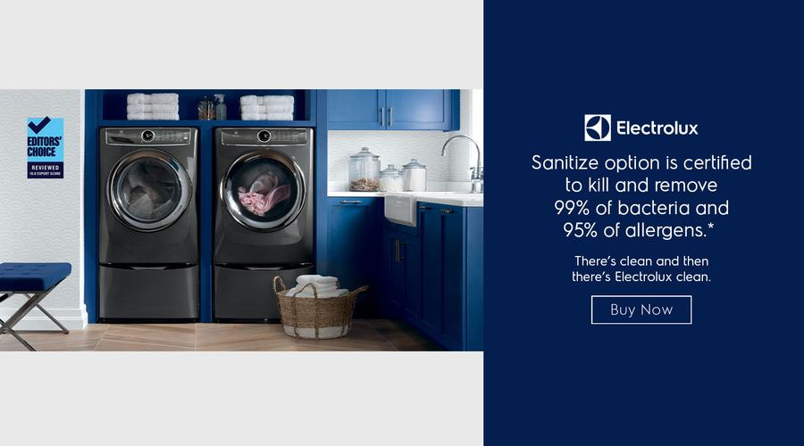 Electrolux Laundry with Sanitize Option Evergreen 2020