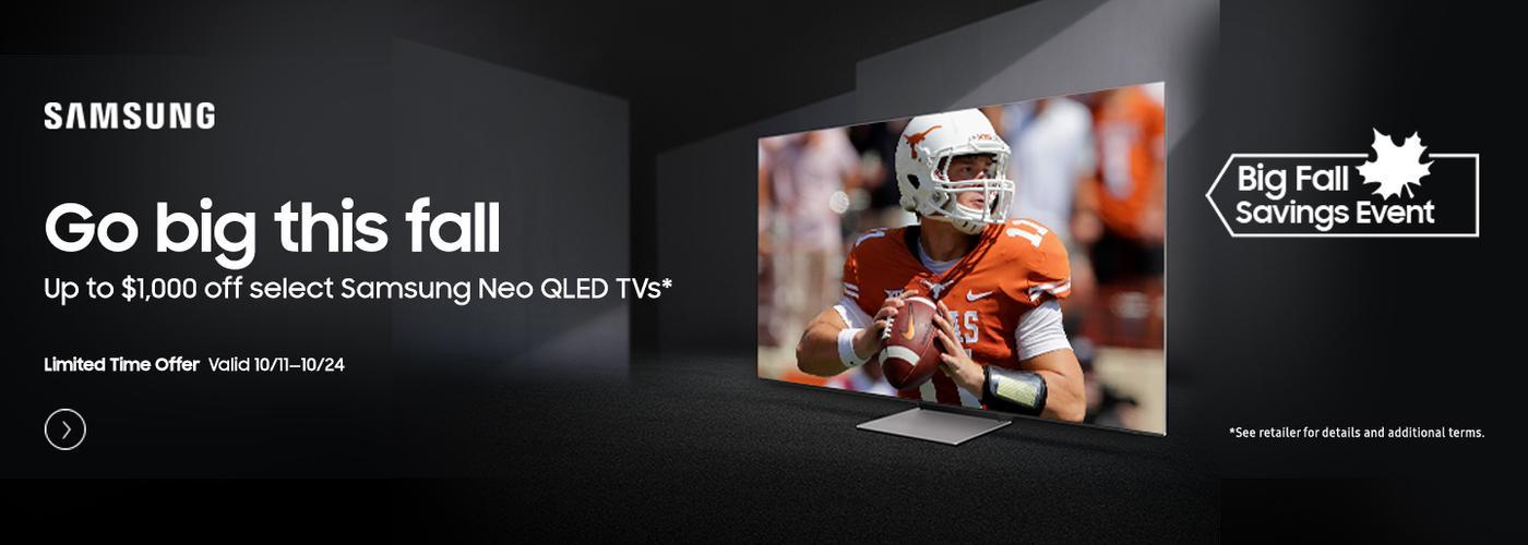 Samsung Electronics TV Fall Savings (10/11 - 10/24) 2021 Ignite LT