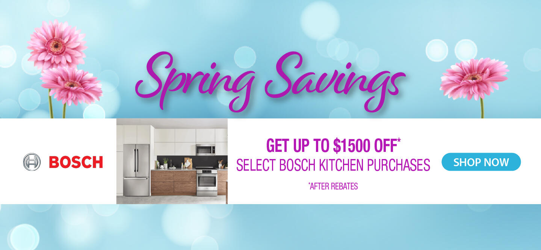 Bosch NEAEG Spring Savings 2021