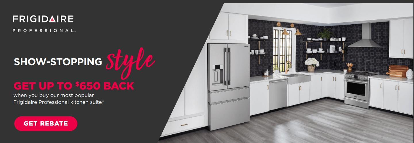 Frigidaire Professional Buy More Save More Oct 2020