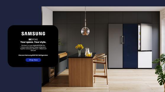 Samsung Bespoke Rebate April-Dec 2021