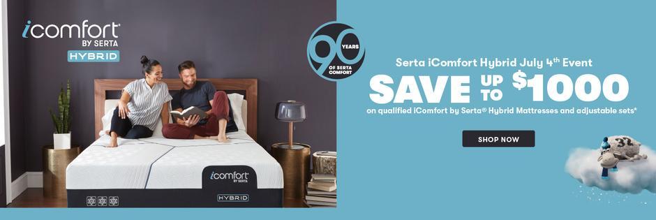 Serta iComfort Hybrid July 4th 2021