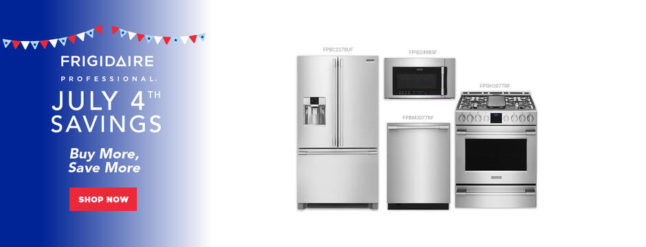 Frigidaire Professional NEAEG July 4th 2020 Organic
