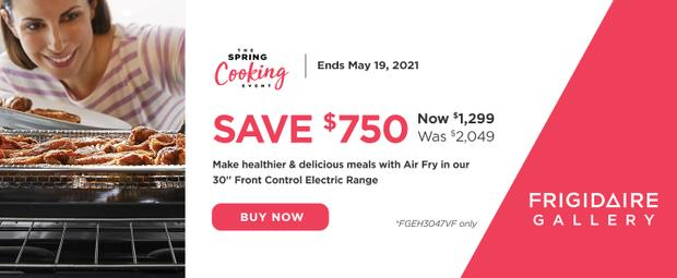 Frigidaire Spring Cooking Event 2021