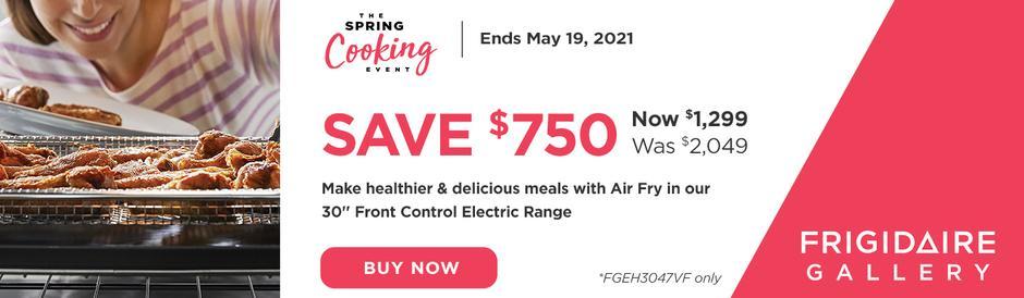 Frigidaire Spring Cooking Event 2021