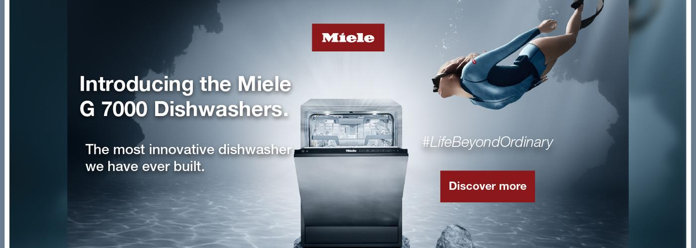 Miele G7000 Dishwasher Launch 2020